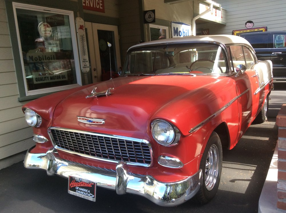 """1955 Chevy Bel Air <div class=""""sold"""">SOLD</div>"""