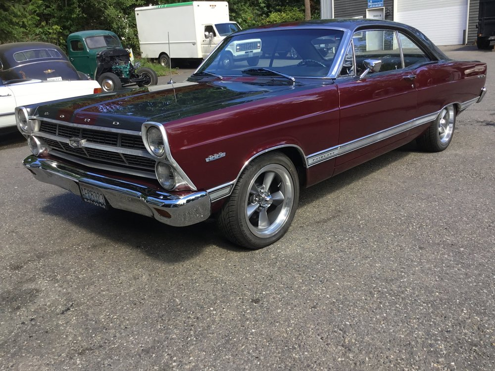 "1967 Ford Fairlane <div class = ""sold""> SOLD</div>"