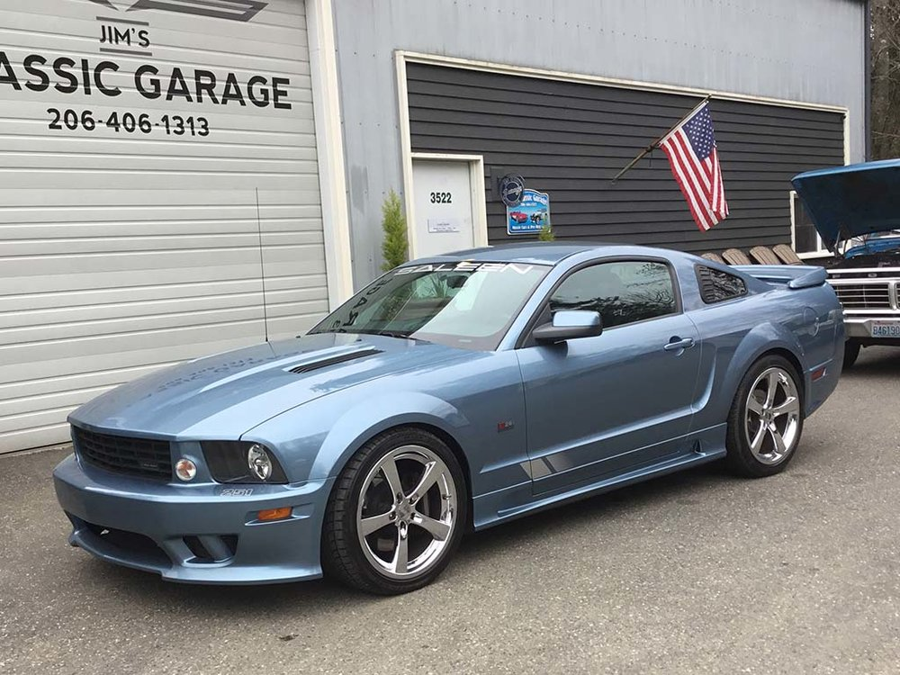 "2006 Ford Mustang Saleen <div class=""sold"">SOLD</div>"