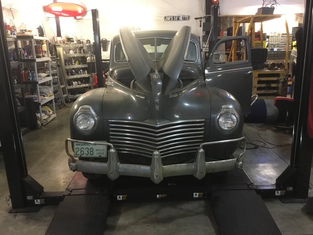 1940 Windsor Undercarriage — Jim\'s Classic Garage Pre-War & Muscle Cars