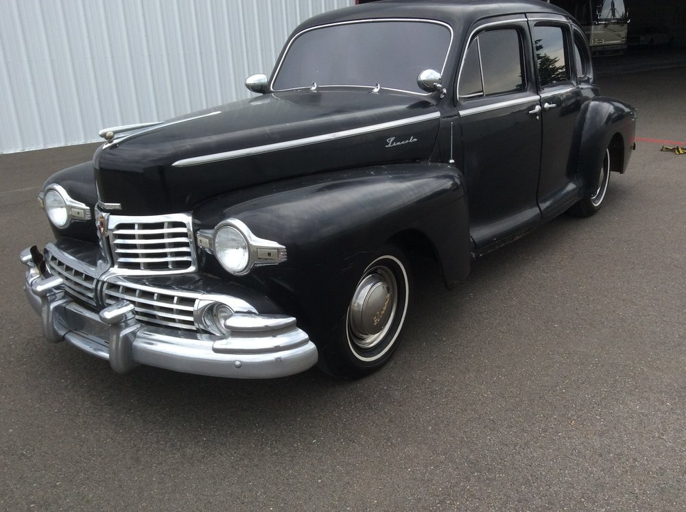 1948 Lincoln Zephyr — Jim\'s Classic Garage Pre-War & Muscle Cars