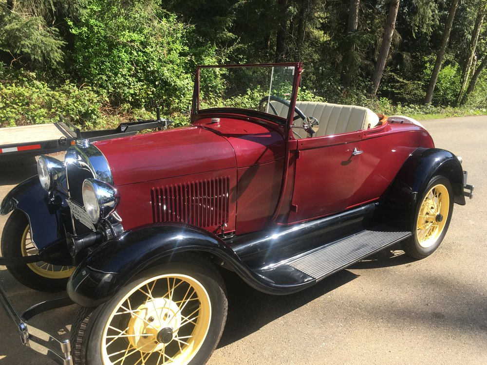 1929 Ford Model A Roadster — Jim\'s Classic Garage Pre-War & Muscle Cars