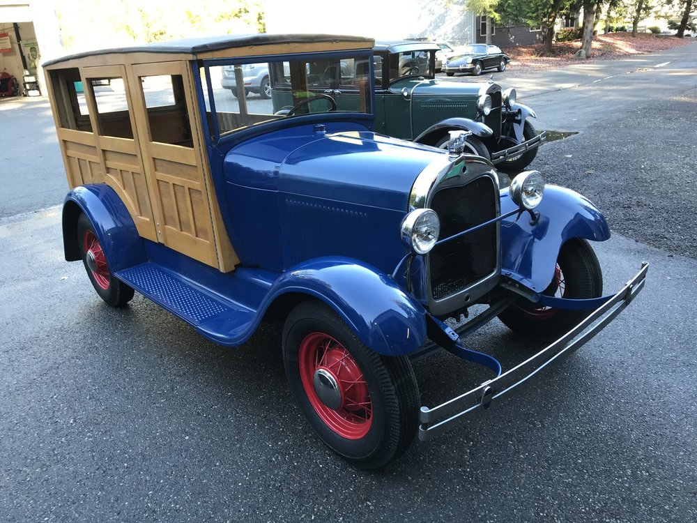 """1929 Ford Model A Woody Wagon<div class=""""sold"""">SOLD</div>"""