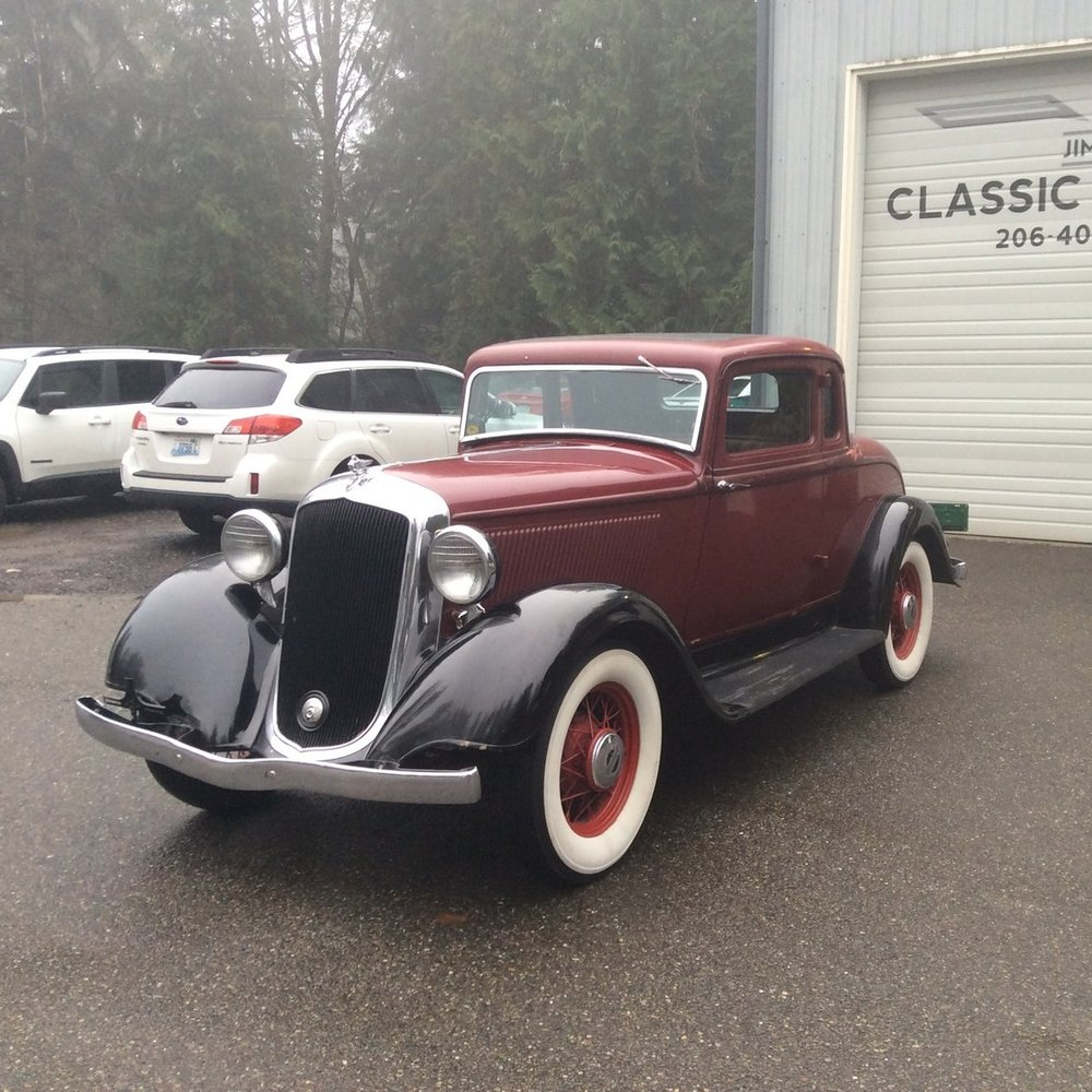 "1933 Plymouth CP <div class=""sold"">SOLD</div>"