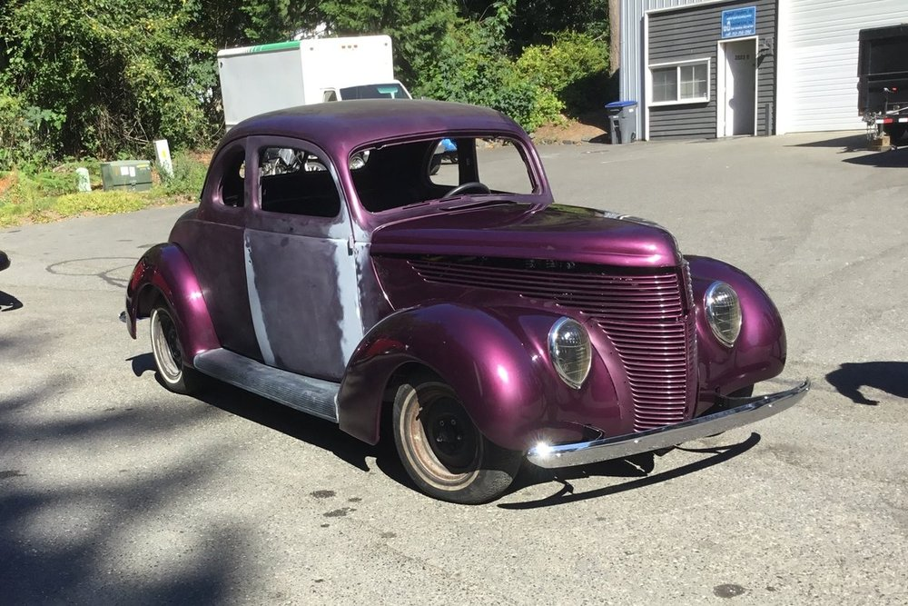 """1938 Ford Custom Coupe <div class=""""sold"""">SOLD</div>"""