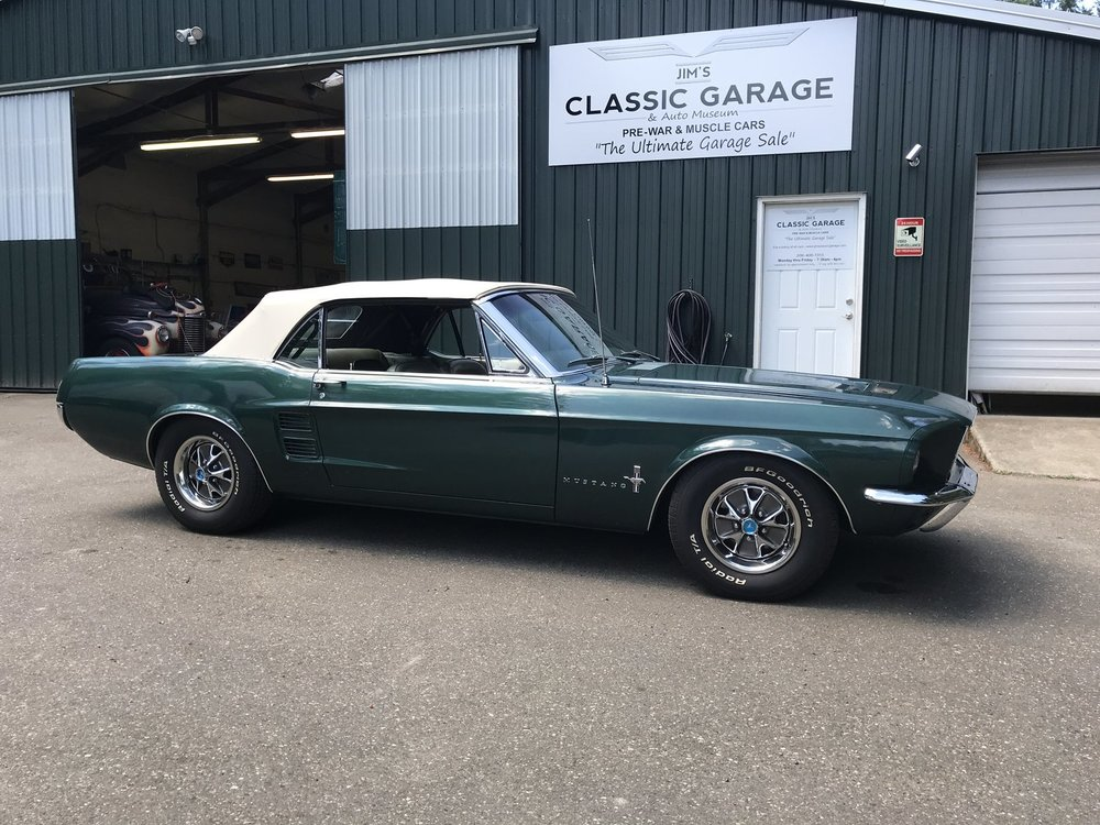 """1967 Ford Mustang <div class=""""sold"""">SOLD</div>"""