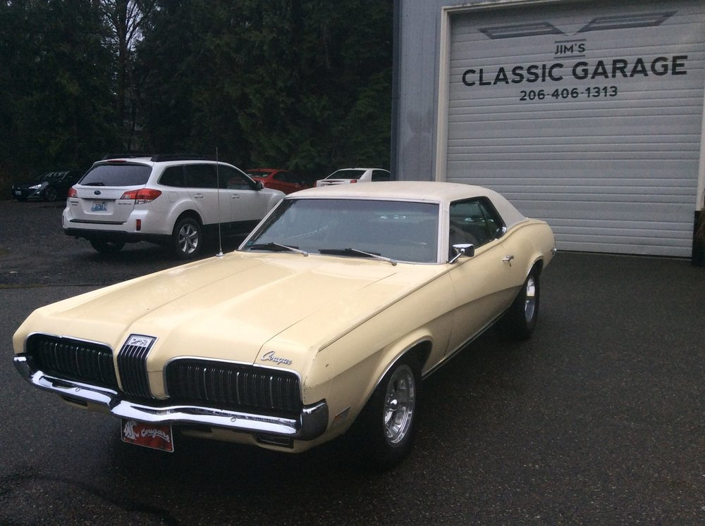 "1970 Mercury Cougar <div class=""sold"">SOLD</div>"
