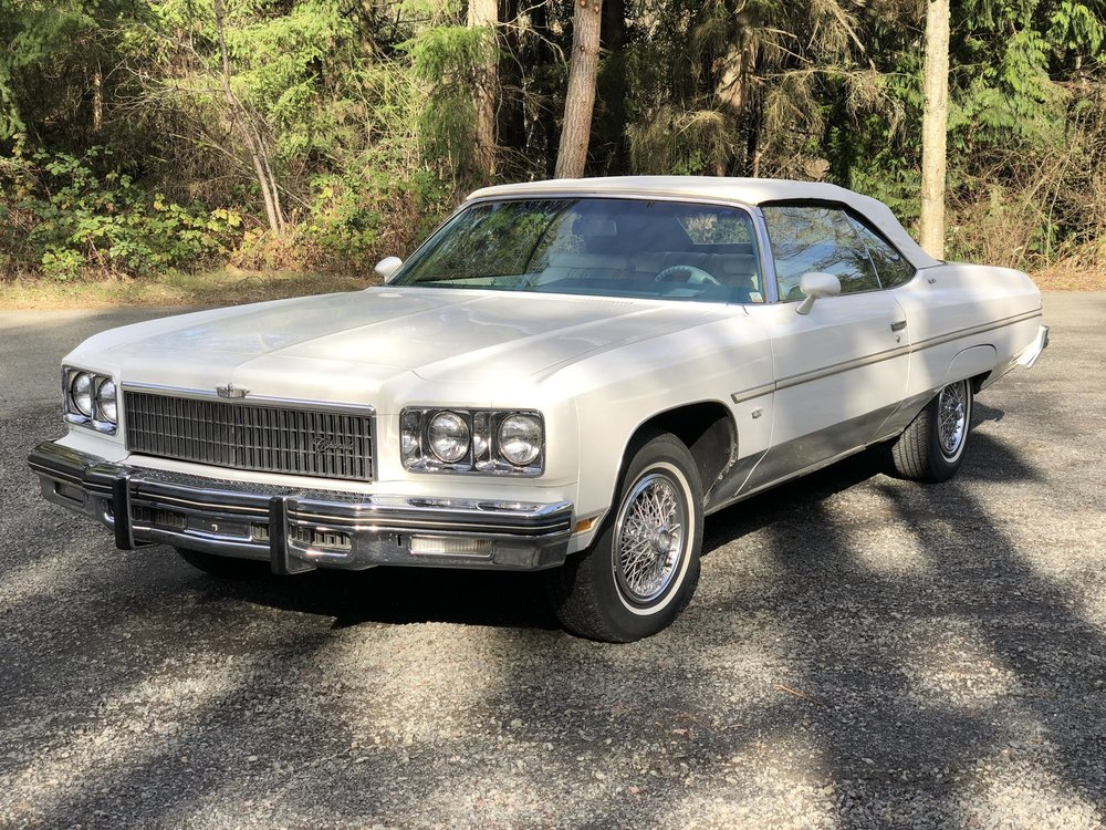 """1975 Chevrolet Caprice <div class=""""sold"""">SOLD</div>"""