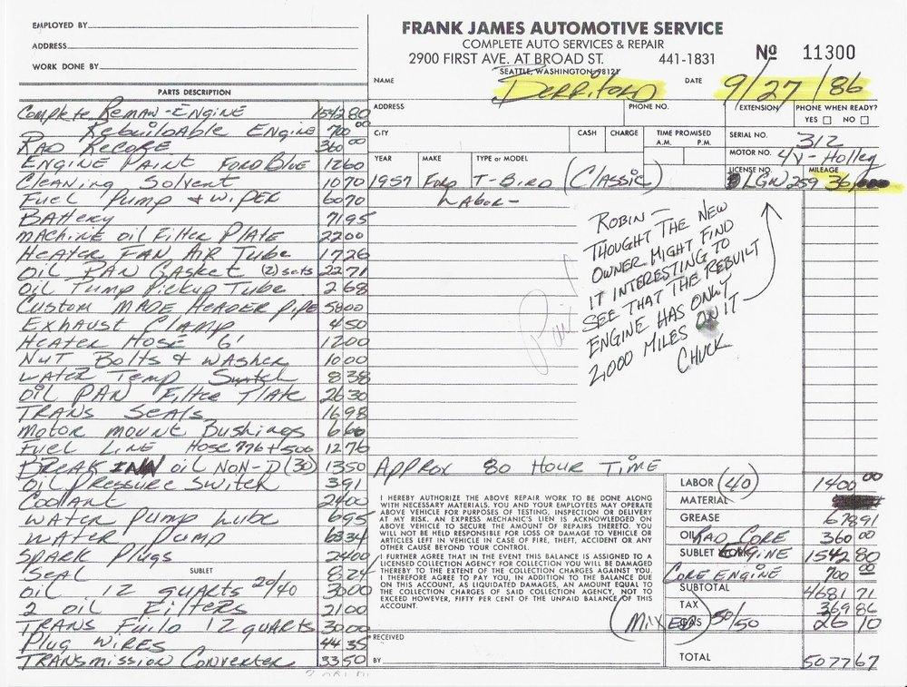 1957 Thunderbird - Service Record.jpg