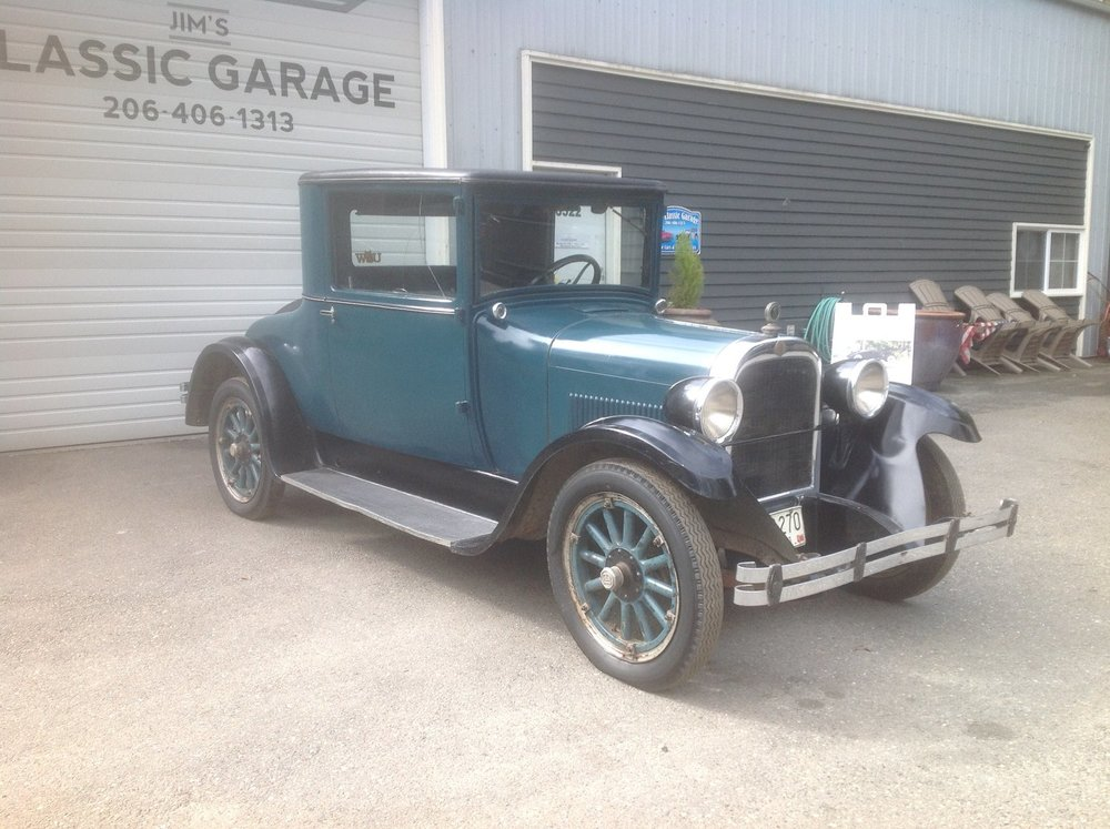 """1927 DODGE BROTHERS COUPE<div class=""""sold"""">SOLD</div>"""