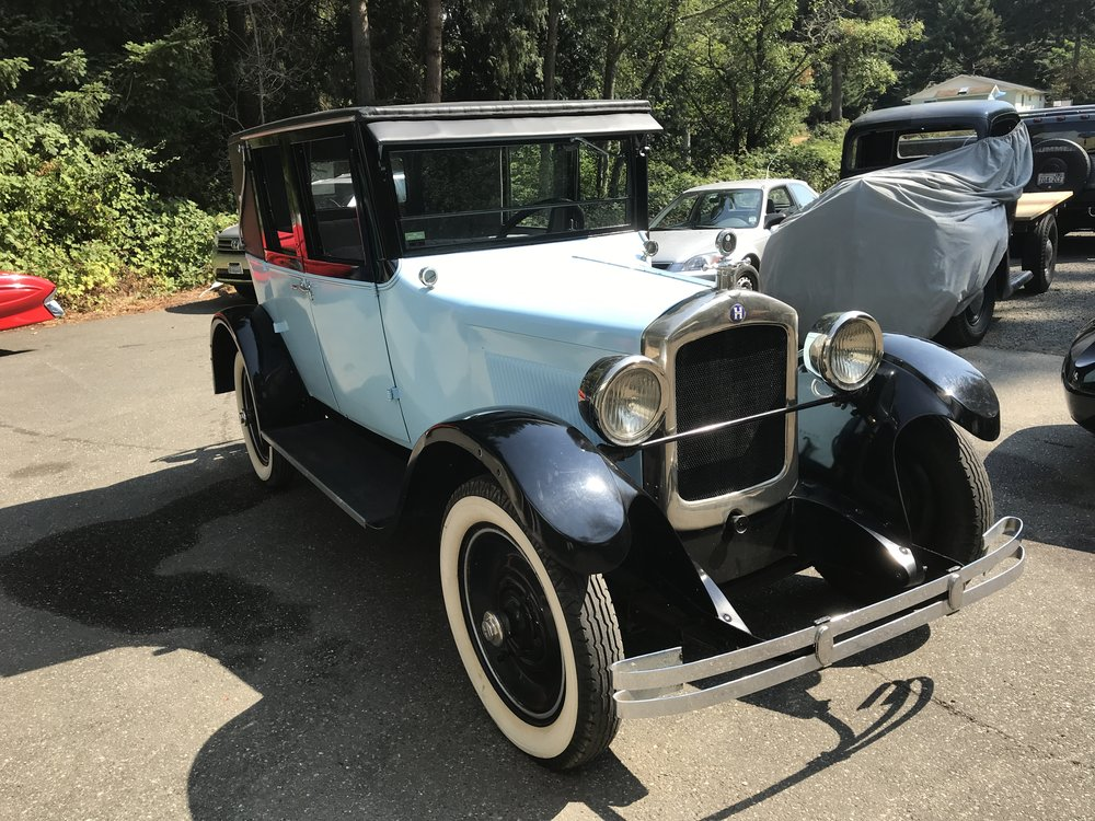 """1926 Hupmobile<div class=""""sold"""">SOLD</div>"""