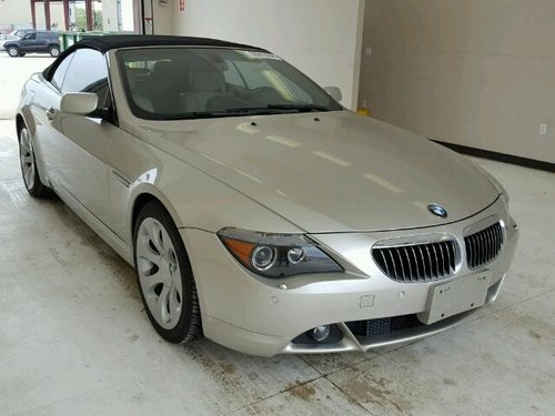 2005 bmw 645ci  sOLD