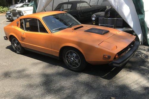1973 Saab sonett iii  $9,500