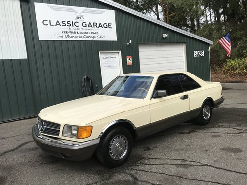 1983 mercedes benz 380 sec  sold