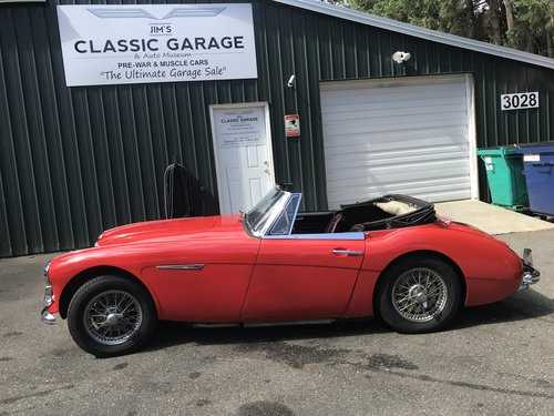 1963 austin healey 3000 mk ii  sold