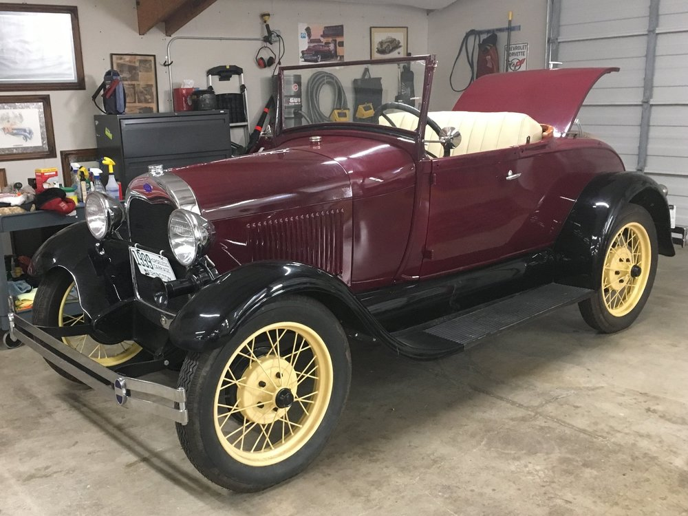 1929 FORD MODEL A ROADSTER  Sold