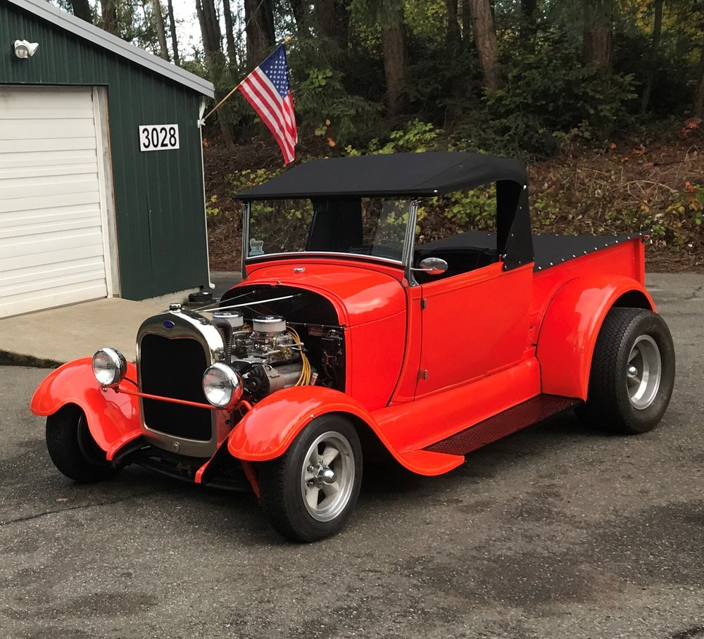 1929 FORD ROADSTER TRUCK  SOld