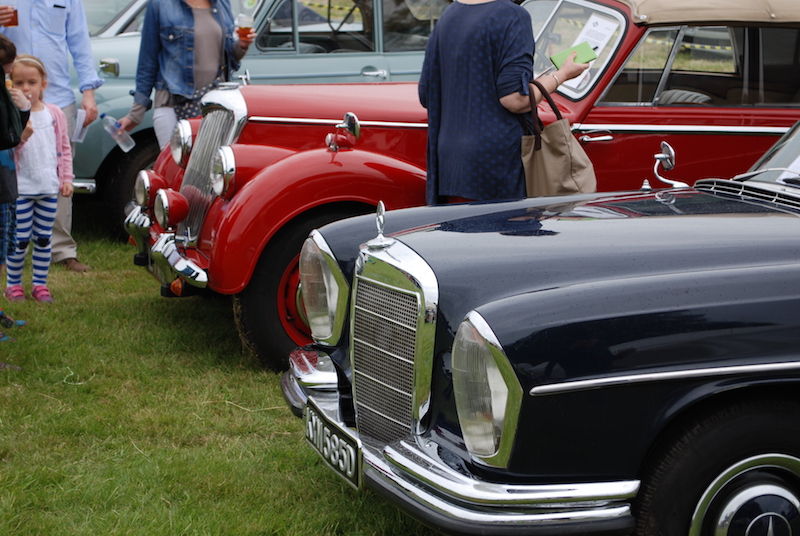 Classic car show - Admire over twenty classic cars and tractors!