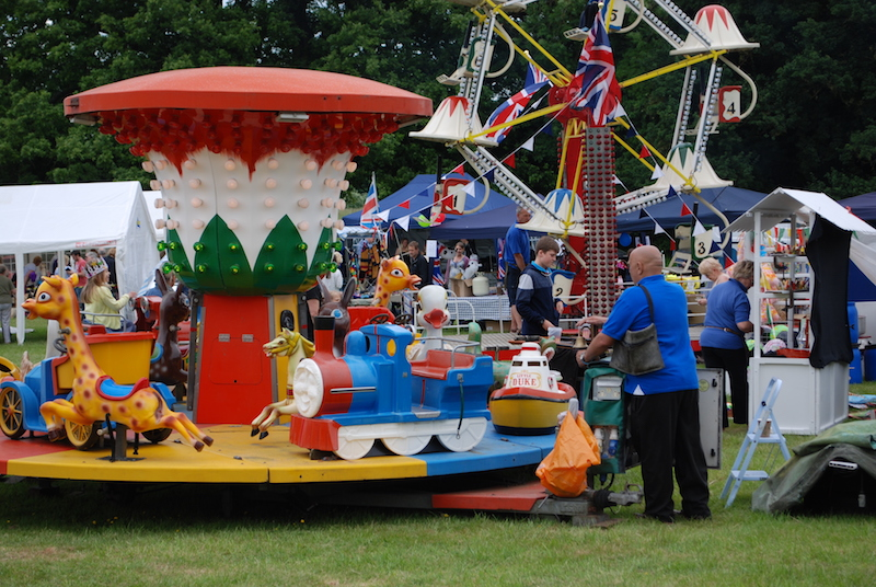 Fairground - Big wheel, bouncy castles and more...