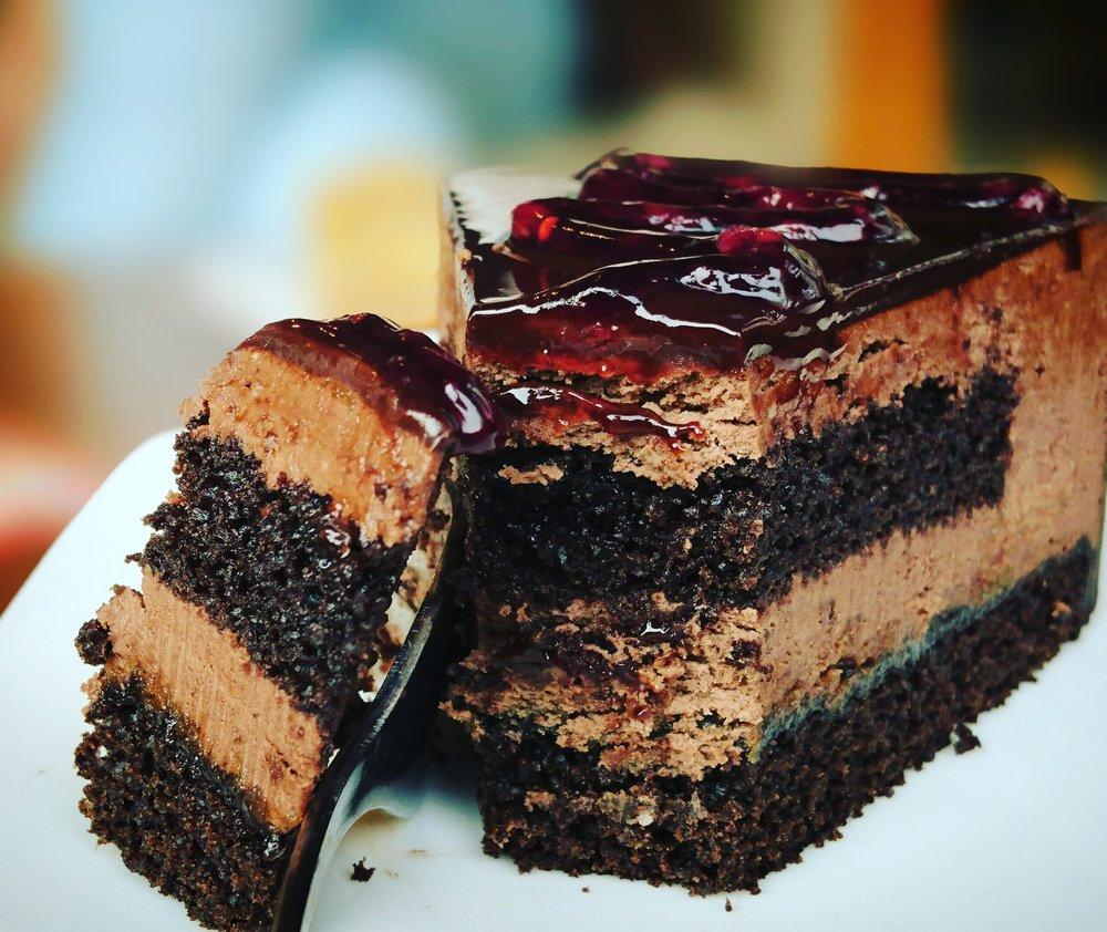 Home-made cakes -