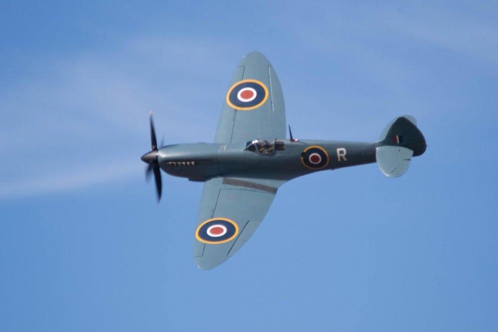 Spitfire flypast! -