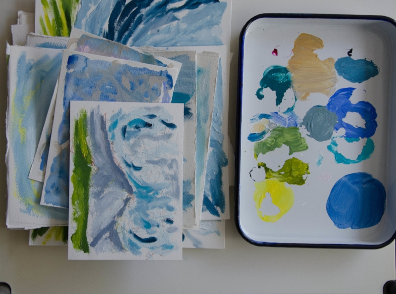 marysia champ canadian prairie landscape artist paper artwork and paint pan