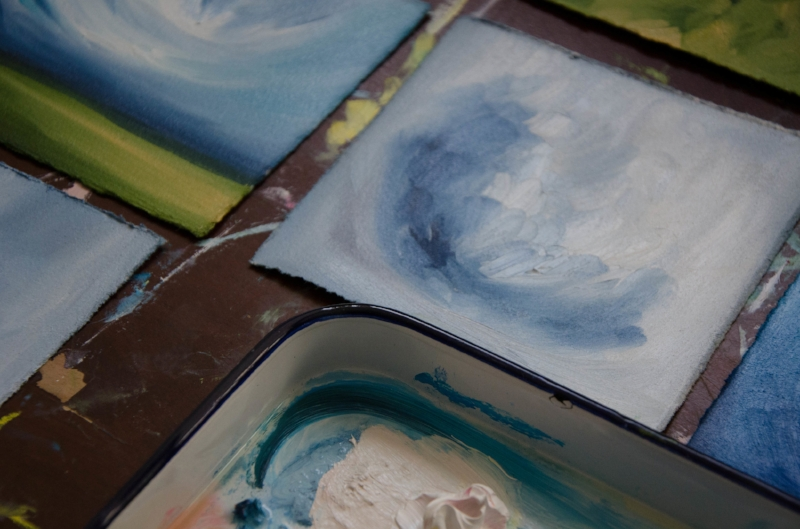 marysia champ canadian prairie landscape artist oil painting artwork