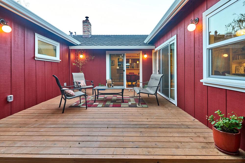 Deck area 2