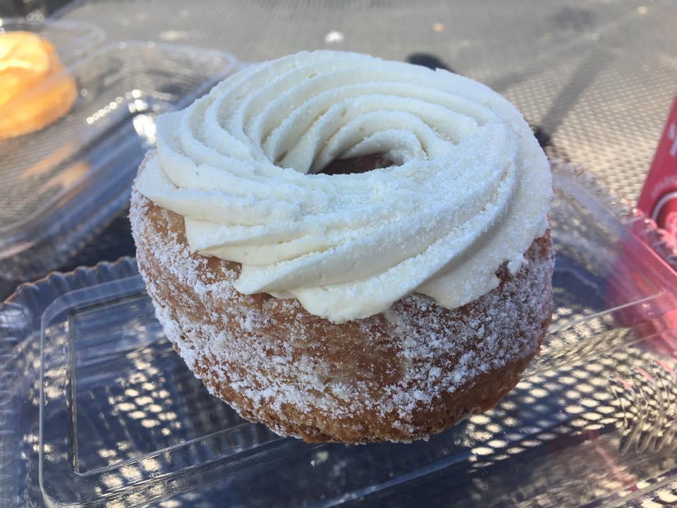 100 Layer Vanilla Cream Donut