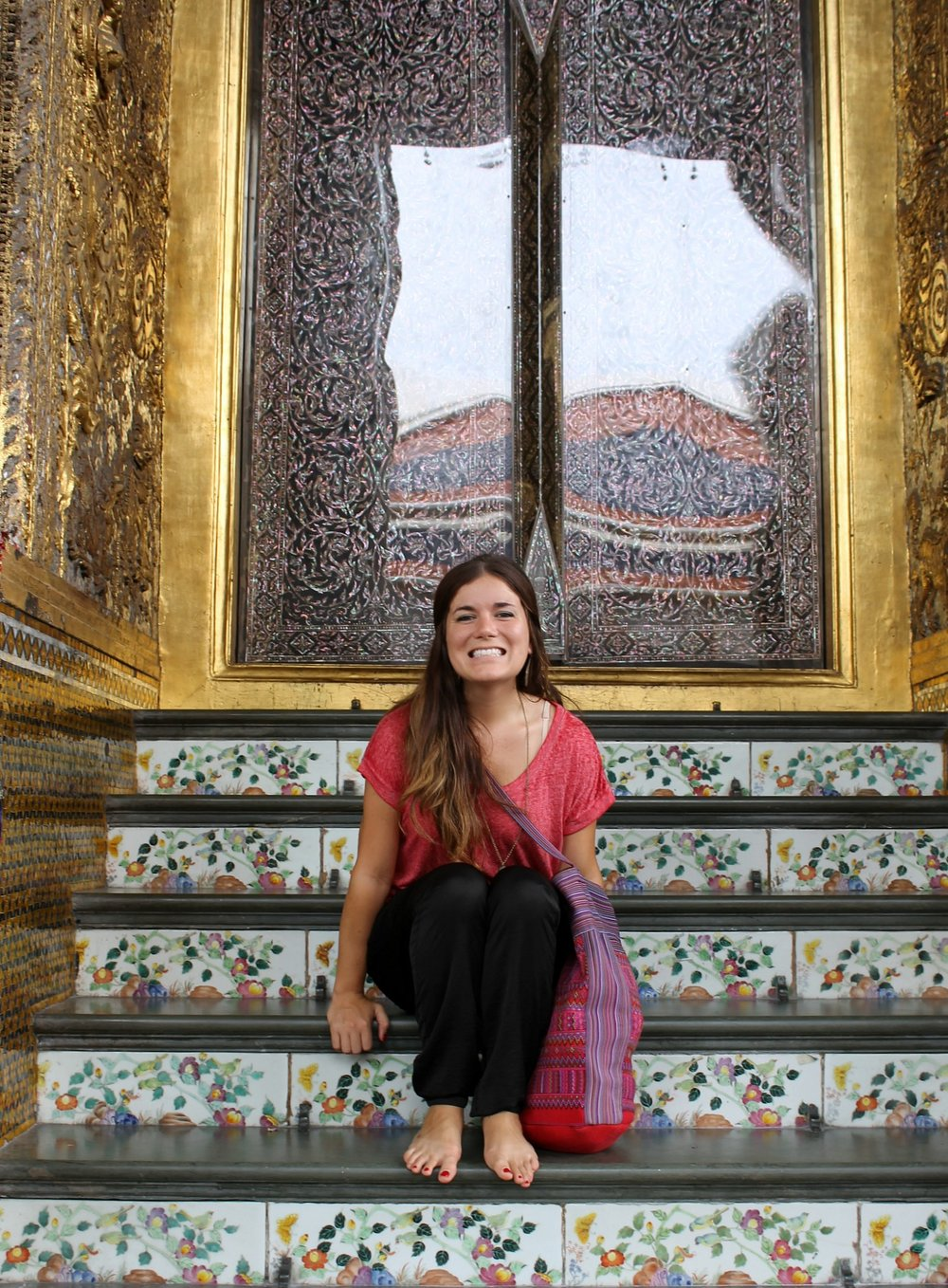 at the Golden Palace in Bangkok, Thailand in 2013