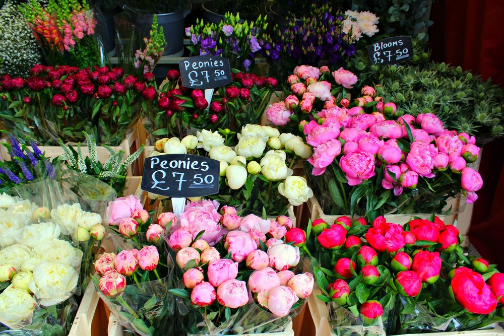 all the peonies and lilies for me please.