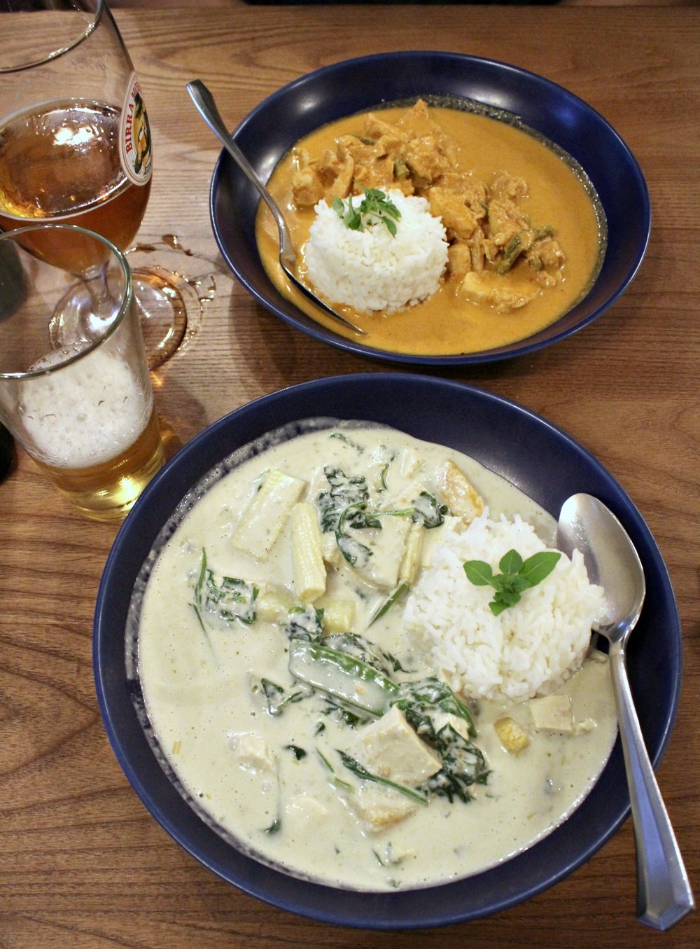 Thai Green Curry with Tofu for 11.40GBP