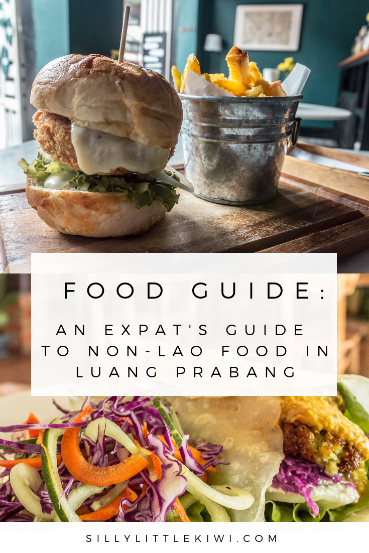 a food guide: where to find non-lao food in Luang Prabang