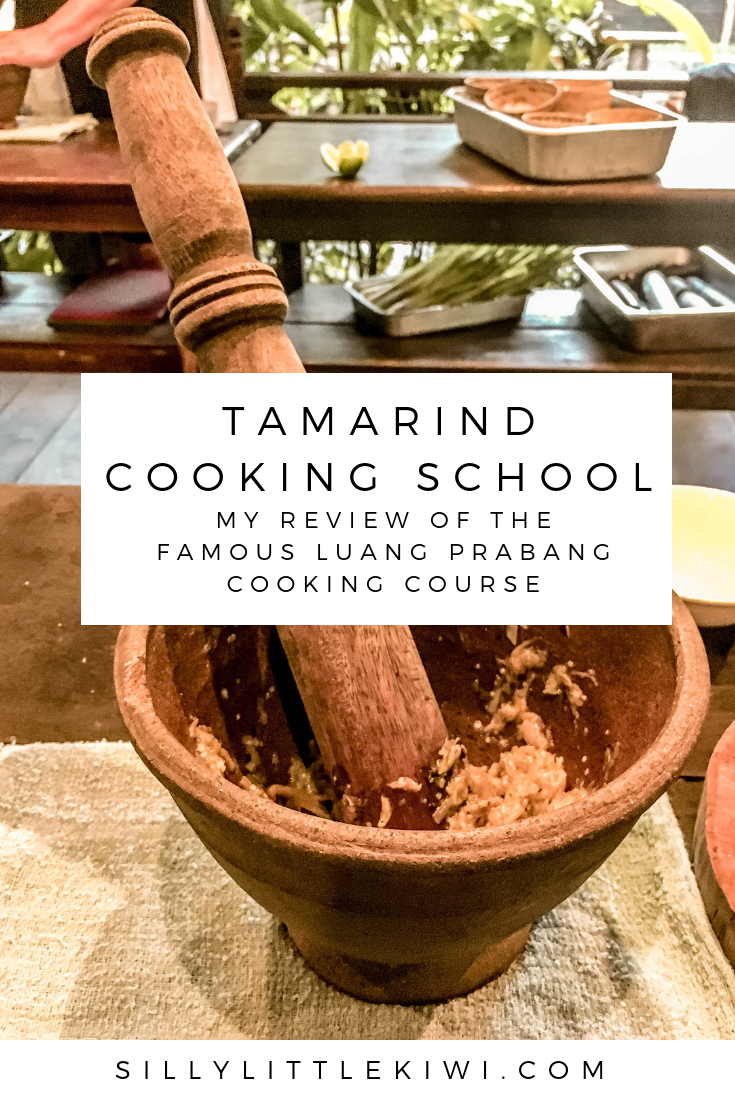 Tamarind Cooking School in Luang Prabang, Laos