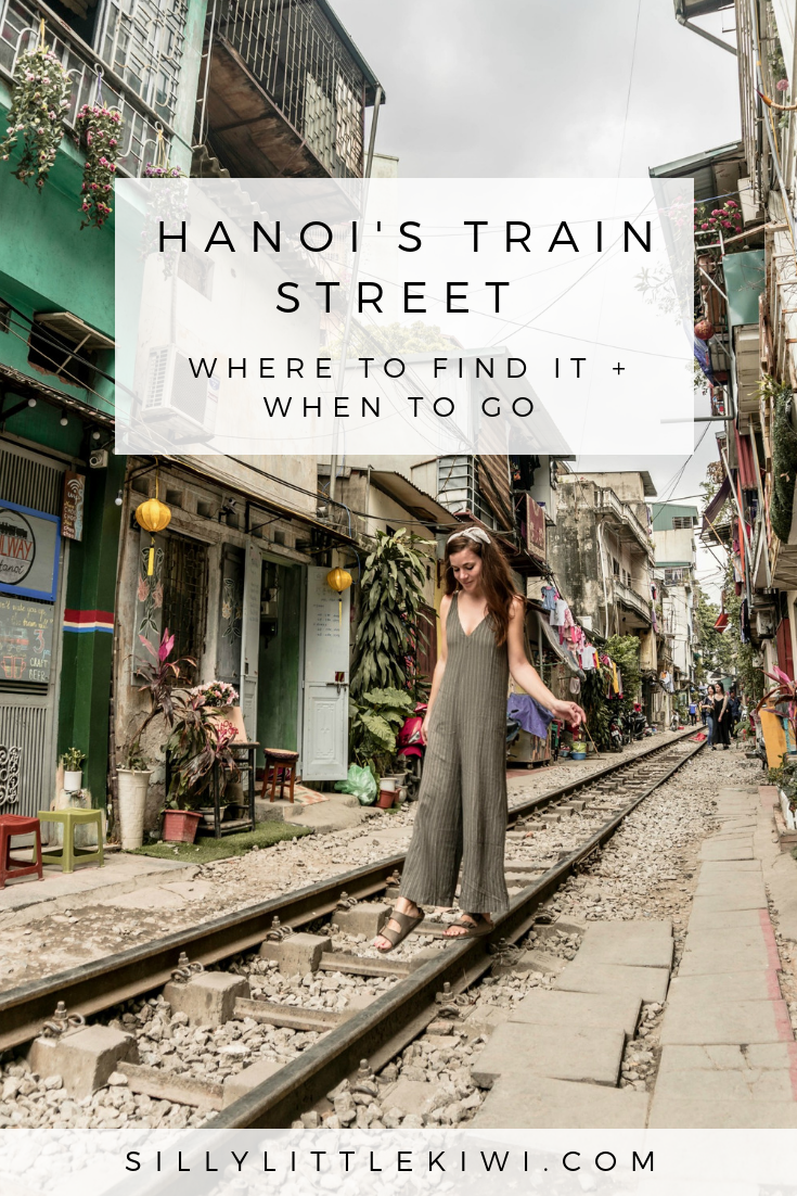 a guide to Hanoi's famous Train Street: when to visit and how to get there