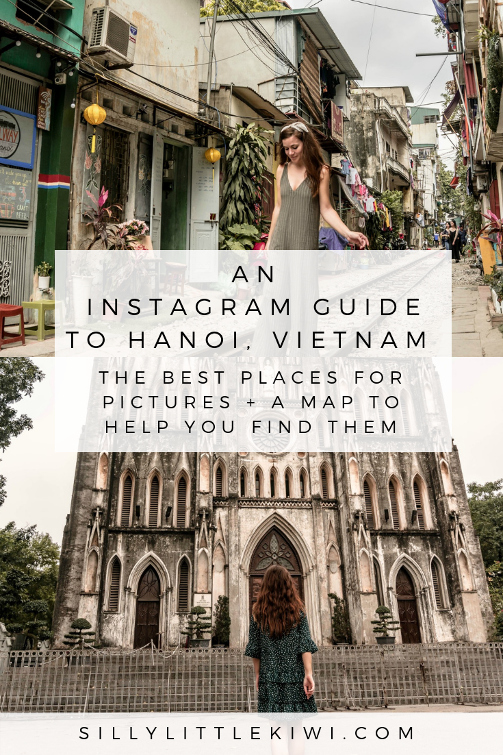 an instagram guide to Hanoi, Vietnam: the best photo spots in the city and a map to help you find them