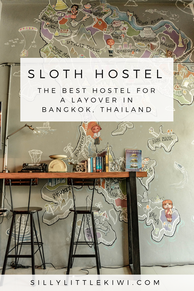 SLOTH HOSTEL DON MUANG- The best hostel to stay at on a layover in Bangkok, Thailand