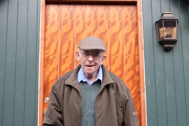 Lachie's new front door. © John MacPherson