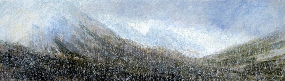 Keith_Salmon-7The_Saddle_from_Glen_Rosa_Isle_of_Arran_March_Acrylic__Pastel_2013_76_x_23_cm.jpg