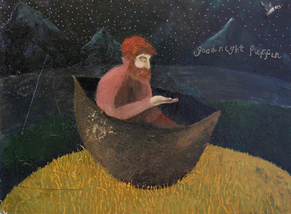 Izzy Thomson. Pretending To Sea. Oil on Canvas .jpg
