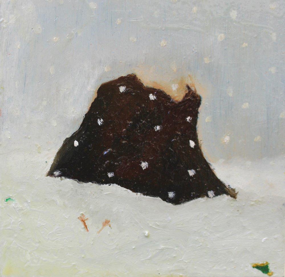 Izzy Thomson.A L'isle Noir Panel. Oil on board. jpg.jpg