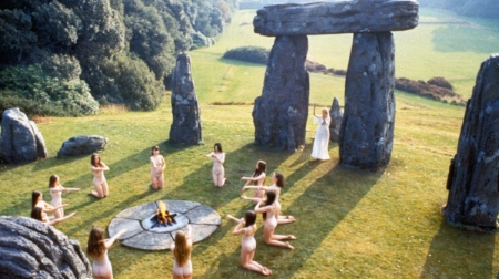 Scene from The Wicker Man.