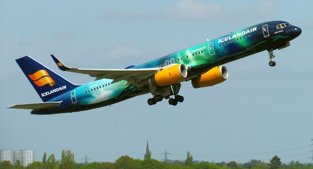 Icelandair's 'Hekla Aurora'.