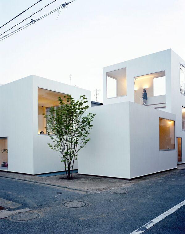 Office of Ryue Nishizawa, Moriyama House, 2005. © Takashi Homma