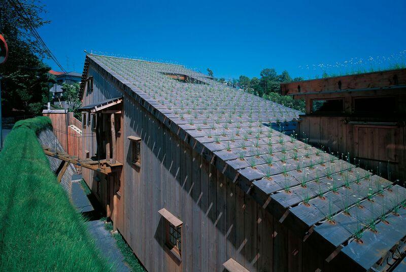 Terunobu Fujimori, Leek House, 1997. Photo by Akihisa Masuda