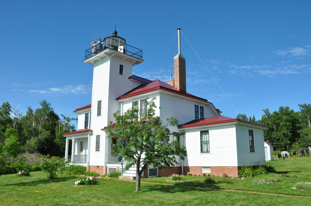 Raspberry Island Lake Superior The Island Review Lighthouse