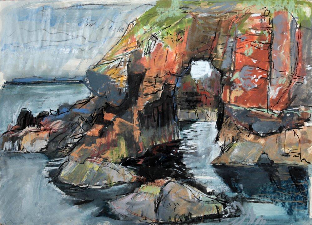 Sea Arch, Breis Holm, Papa Stour