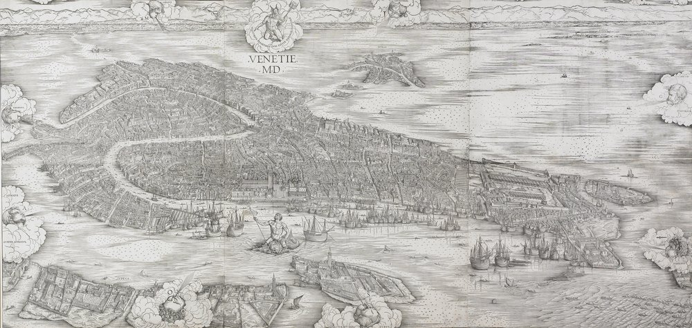 Jacopo de Barbari's 1500 map of Venice