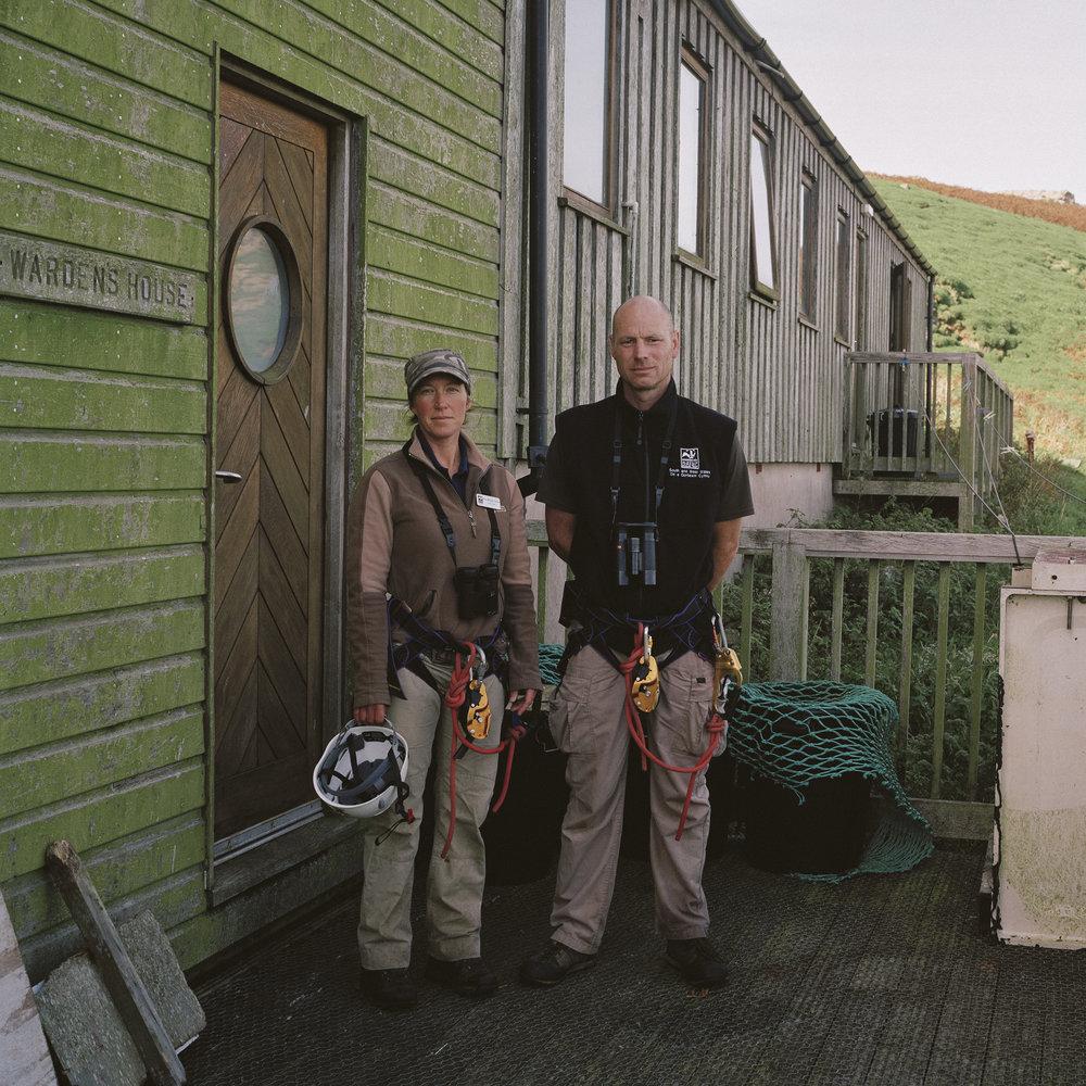 Ed & Bee, Skomer Island
