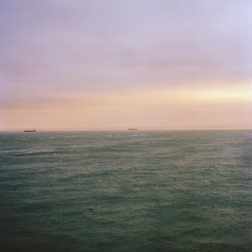 Looking Home, Skomer Island.